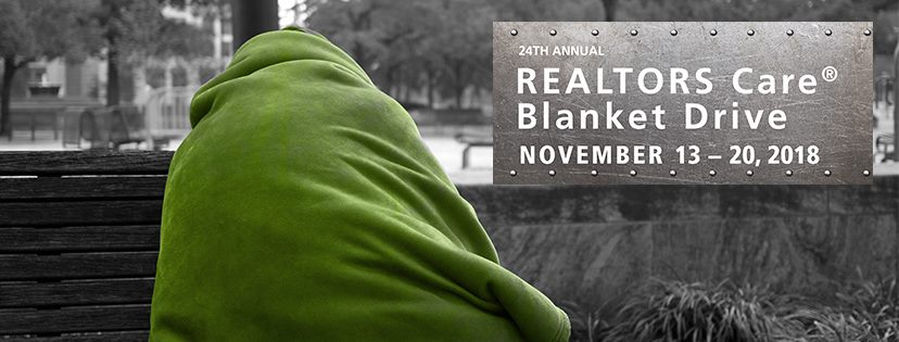 The REALTORS Care® Blanket Drive is on now!